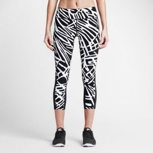 NIKE LEG-A-SEE Allover Print Zebra Leggings #3649